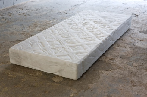 "Solid carved marble block, 7.48"" x 78.74"""